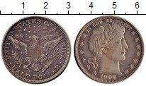 Изображение Монеты Северная Америка США 1/2 доллара 1900 Серебро UNC-