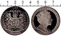 Изображение Монеты Великобритания Фолклендские острова 1 крона 2018 Медно-никель UNC
