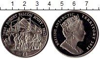 Изображение Монеты Антарктика Антарктика 2 фунта 2018 Медно-никель UNC