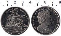 Изображение Монеты Южная Америка Сендвичевы острова 2 фунта 2009 Медно-никель UNC