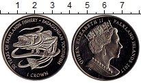 Изображение Монеты Фолклендские острова 1 крона 2017 Медно-никель UNC