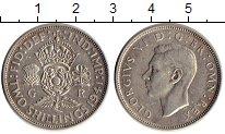 Изображение Монеты Великобритания 2 шиллинга 1941 Серебро XF Георг VI