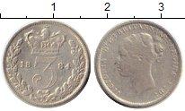 Изображение Монеты Европа Великобритания 3 пенса 1884 Серебро VF