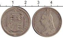 Изображение Монеты Европа Великобритания 1 шиллинг 1889 Серебро VF