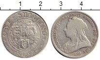 Изображение Монеты Европа Великобритания 1 шиллинг 1893 Серебро VF