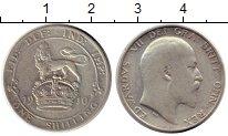 Изображение Монеты Великобритания 1 шиллинг 1910 Серебро VF