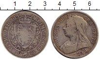Изображение Монеты Европа Великобритания 1/2 кроны 1900 Серебро VF