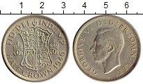 Изображение Монеты Великобритания 1/2 кроны 1946 Серебро XF Георг VI