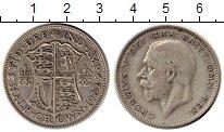 Изображение Монеты Европа Великобритания 1/2 кроны 1932 Серебро XF-