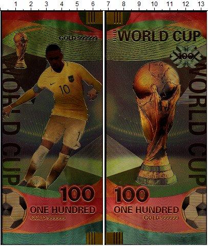 Изображение Банкноты Бразилия 100 2018  UNC