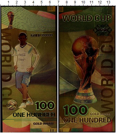 Изображение Банкноты Аргентина 100 2018  UNC