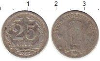 Изображение Монеты Европа Швеция 25 эре 1897 Серебро VF