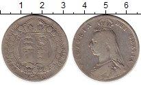 Изображение Монеты Европа Великобритания 1/2 кроны 1891 Серебро VF