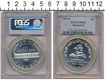 Изображение Монеты Северная Америка США 1 доллар 1997 Серебро Proof