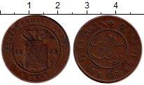 Изображение Монеты Нидерландская Индия 1 цент 1858 Медь VF