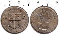 Изображение Монеты Маврикий 1 рупия 1964 Медно-никель XF