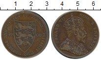 Изображение Монеты Великобритания Остров Джерси 1/12 шиллинга 1909 Бронза XF