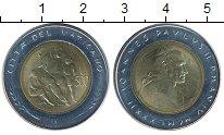 Изображение Монеты Европа Ватикан 500 лир 1982 Биметалл UNC