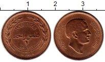 Изображение Монеты Азия Иордания 1 филс 1968 Бронза XF