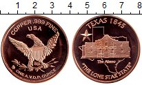 Изображение Мелочь Северная Америка США 1 унция 0 Медь Proof