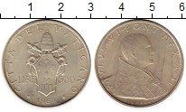 Изображение Монеты Европа Ватикан 500 лир 1964 Серебро XF