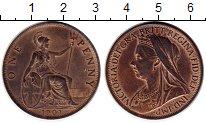 Изображение Монеты Великобритания 1 пенни 1901 Медь UNC-