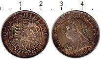 Изображение Монеты Великобритания 1 шиллинг 1898 Серебро UNC-