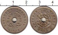 Изображение Монеты Родезия 1/2 пенни 1934 Медно-никель XF