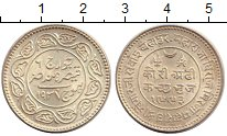 Изображение Монеты Азия Кач 2 1/2 кори 1937 Серебро UNC-