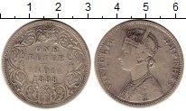 Изображение Монеты Индия 1 рупия 1888 Серебро VF