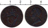 Изображение Монеты Ирландия 1 фартинг 1760 Медь VF