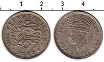 Изображение Монеты Азия Кипр 1 шиллинг 1949 Медно-никель XF
