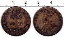 Изображение Монеты Западная Африка 1 шиллинг 1913 Серебро VF