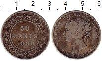 Изображение Монеты Канада Ньюфаундленд 50 центов 1899 Серебро VF
