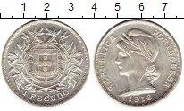 Изображение Монеты Европа Португалия 1 эскудо 1916 Серебро UNC-