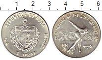 Изображение Монеты Куба 5 песо 1986 Серебро UNC-