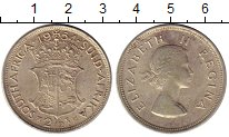 Изображение Монеты Африка ЮАР 2 1/2 шиллинга 1954 Серебро XF