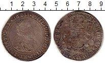 Изображение Монеты Европа Испания 1 талер 1651 Серебро VF