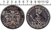 Изображение Монеты Северная Америка Ямайка 25 долларов 1979 Серебро UNC