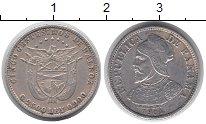 Изображение Монеты Северная Америка Панама 5 сентесим 1904 Серебро XF