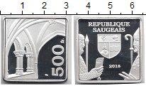Изображение Монеты Франция 500 франков 2018 Посеребрение Proof