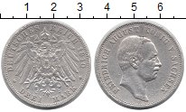 Изображение Монеты Германия Саксония 3 марки 1910 Серебро VF