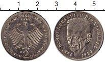 Изображение Монеты Германия ФРГ 2 марки 1989 Медно-никель XF