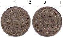 Изображение Монеты Уругвай 2 сентесимо 1909 Медно-никель XF