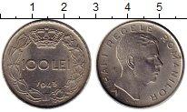 Изображение Монеты Европа Румыния 100 лей 1943 Медно-никель XF