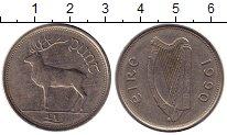 Изображение Мелочь Ирландия 1 фунт 1990 Медно-никель XF