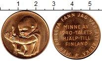Изображение Монеты Европа Финляндия Жетон 1940 Латунь UNC