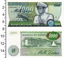 Изображение Банкноты Заир 1000 заиров 1985  UNC