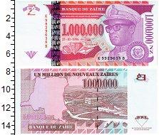 Изображение Банкноты Заир 1000000 заир 1996  UNC