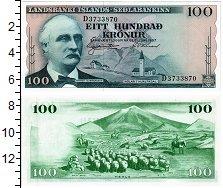 Изображение Банкноты Исландия 100 крон 1957  UNC